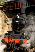 """George Stephenson"" at Pickering"