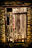 Weathered Door - North Yorkshire