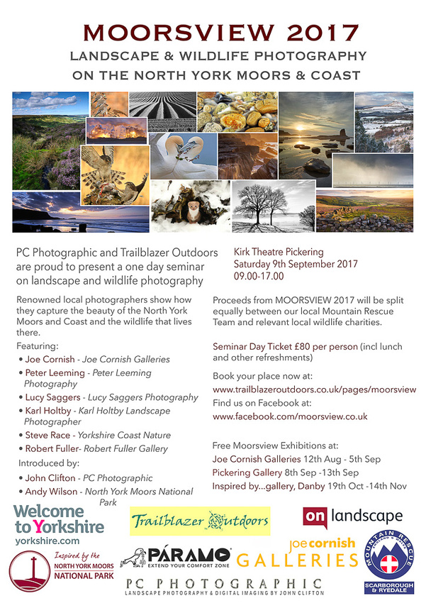 Moorsview 2017 - Landscape & Wildlife Photography on the North York Moors & Coast